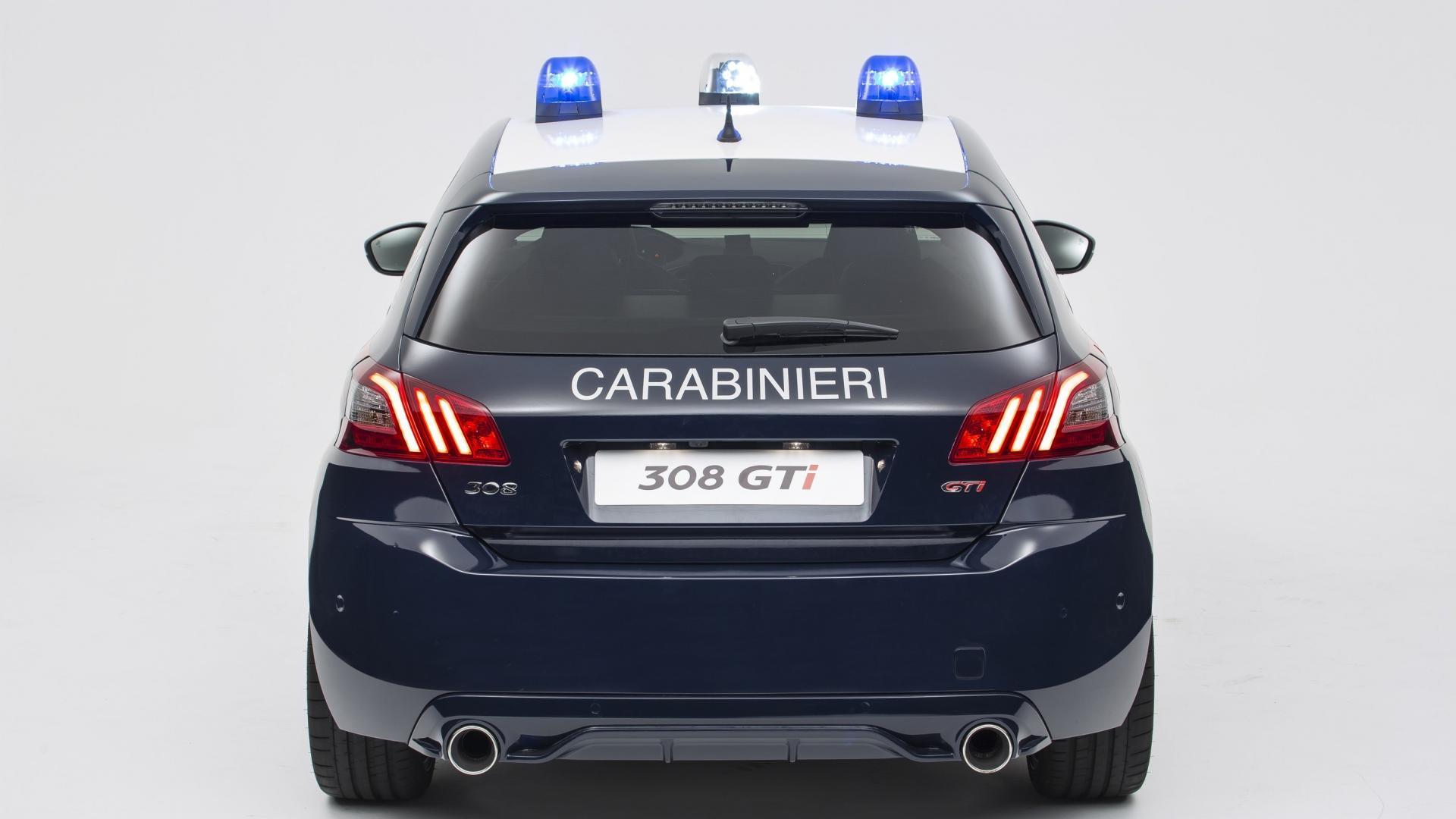 Peugeot 308 GTi Carabinieri (3)