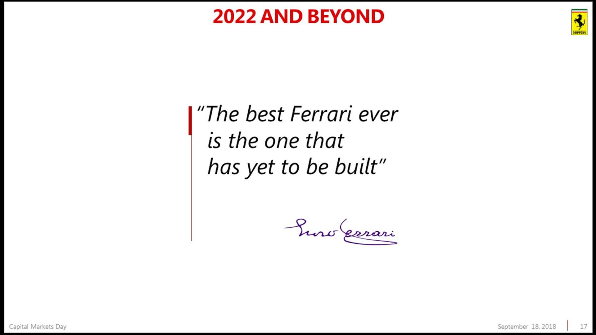 Piano Industriale Ferrari 2018-2022 (15)