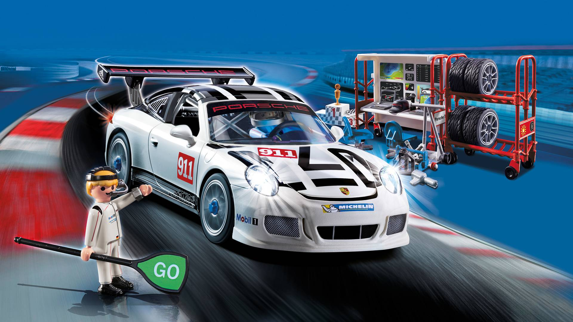 porsche 911 gt3 cup playmobil. Black Bedroom Furniture Sets. Home Design Ideas