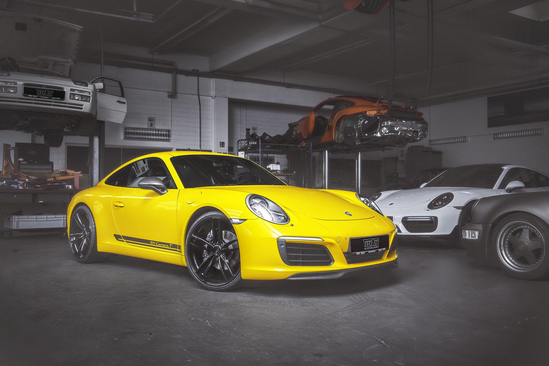 Porsche 911 Carrera T by TechArt 1