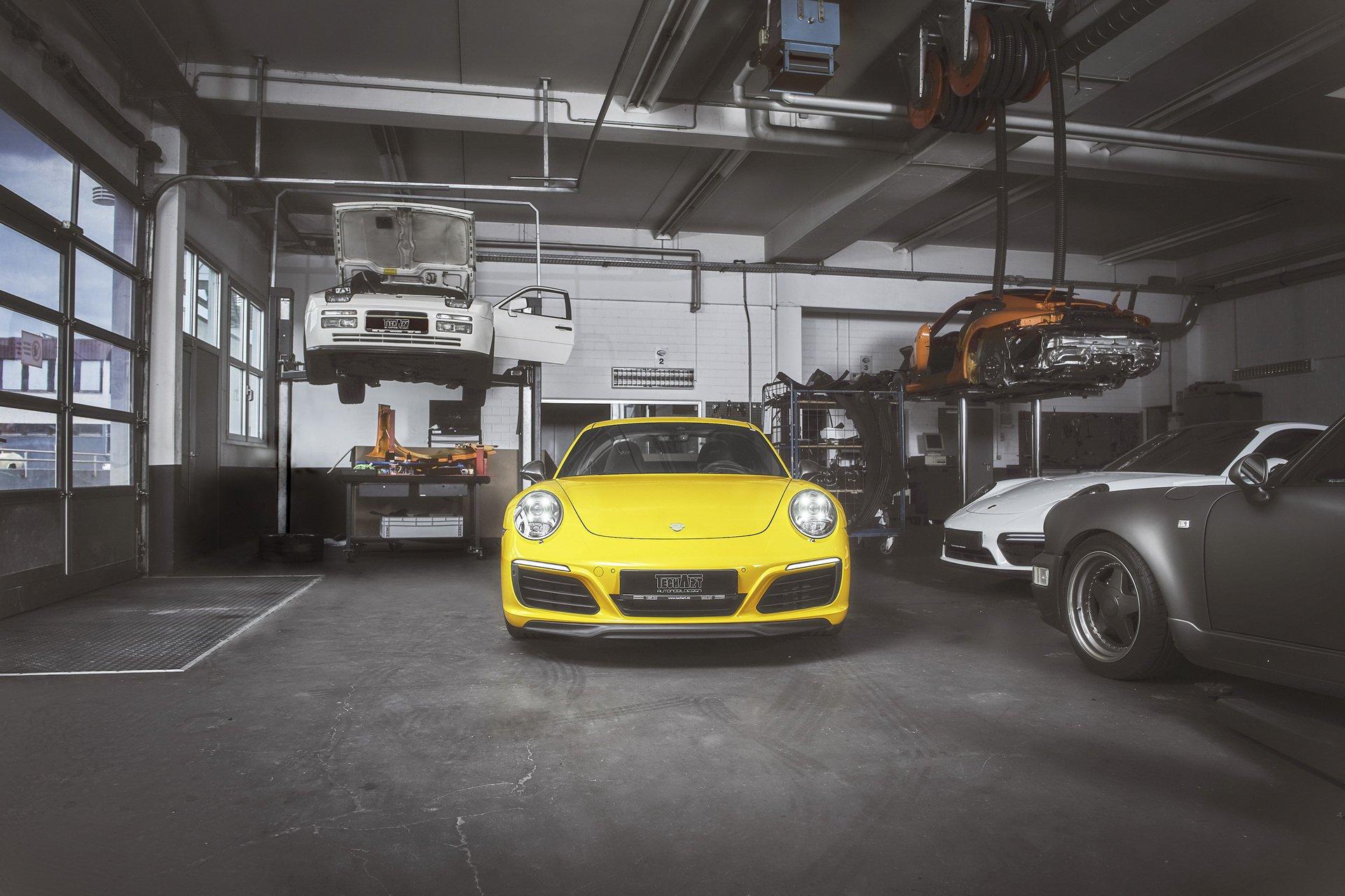 Porsche 911 Carrera T by TechArt 2