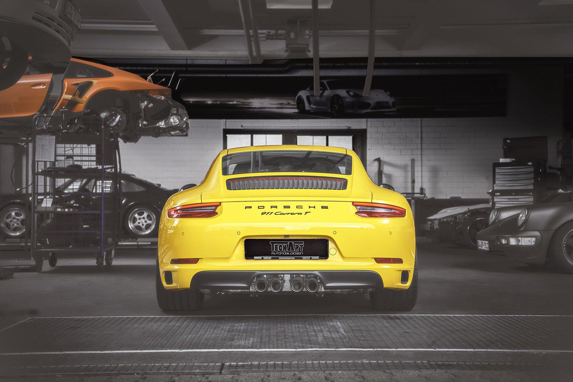 Porsche 911 Carrera T by TechArt 5