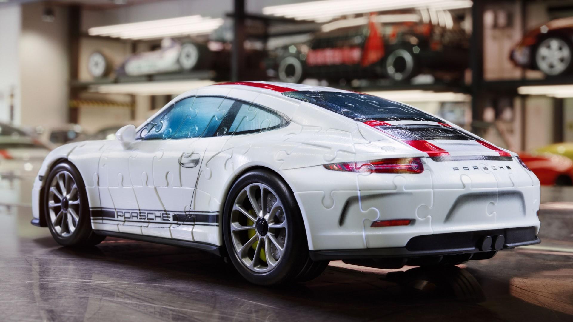 Porsche 911 R Ravensburger puzzle (1)