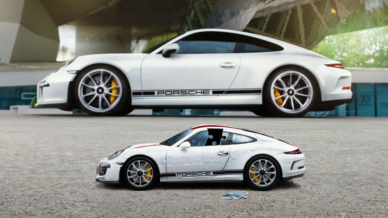 Porsche 911 R Ravensburger puzzle (3)