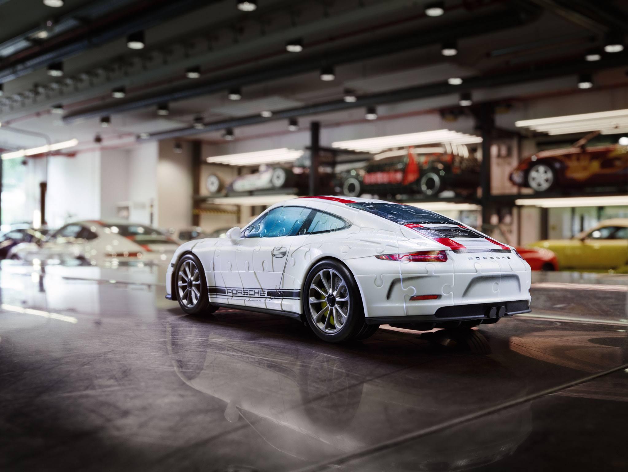 Porsche 911 R puzzle (2)