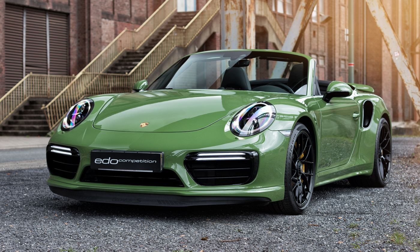Porsche 911 Turbo S cabriolet by Edo Competition (11)