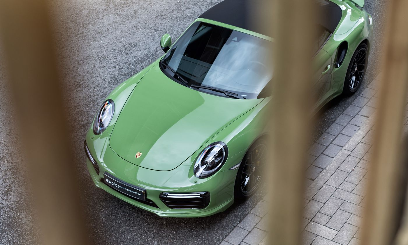 Porsche 911 Turbo S cabriolet by Edo Competition (18)