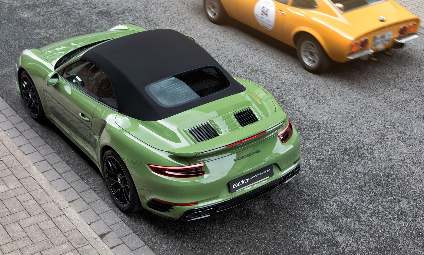 Porsche 911 Turbo S cabriolet by Edo Competition (2)