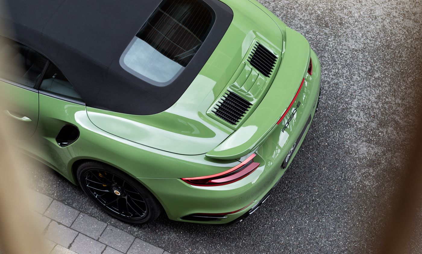 Porsche 911 Turbo S cabriolet by Edo Competition (4)