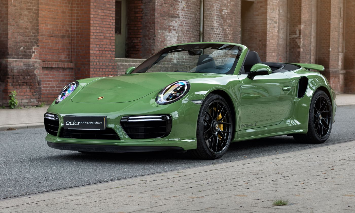 Porsche 911 Turbo S cabriolet by Edo Competition (5)