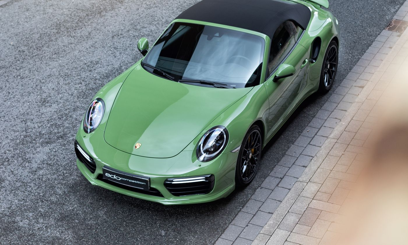 Porsche 911 Turbo S cabriolet by Edo Competition (6)