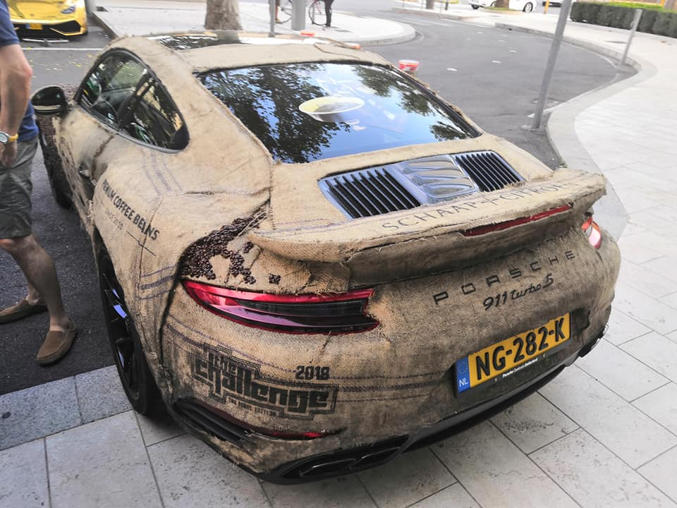 Porsche 911 Turbo S with Coffee Seeds (6)