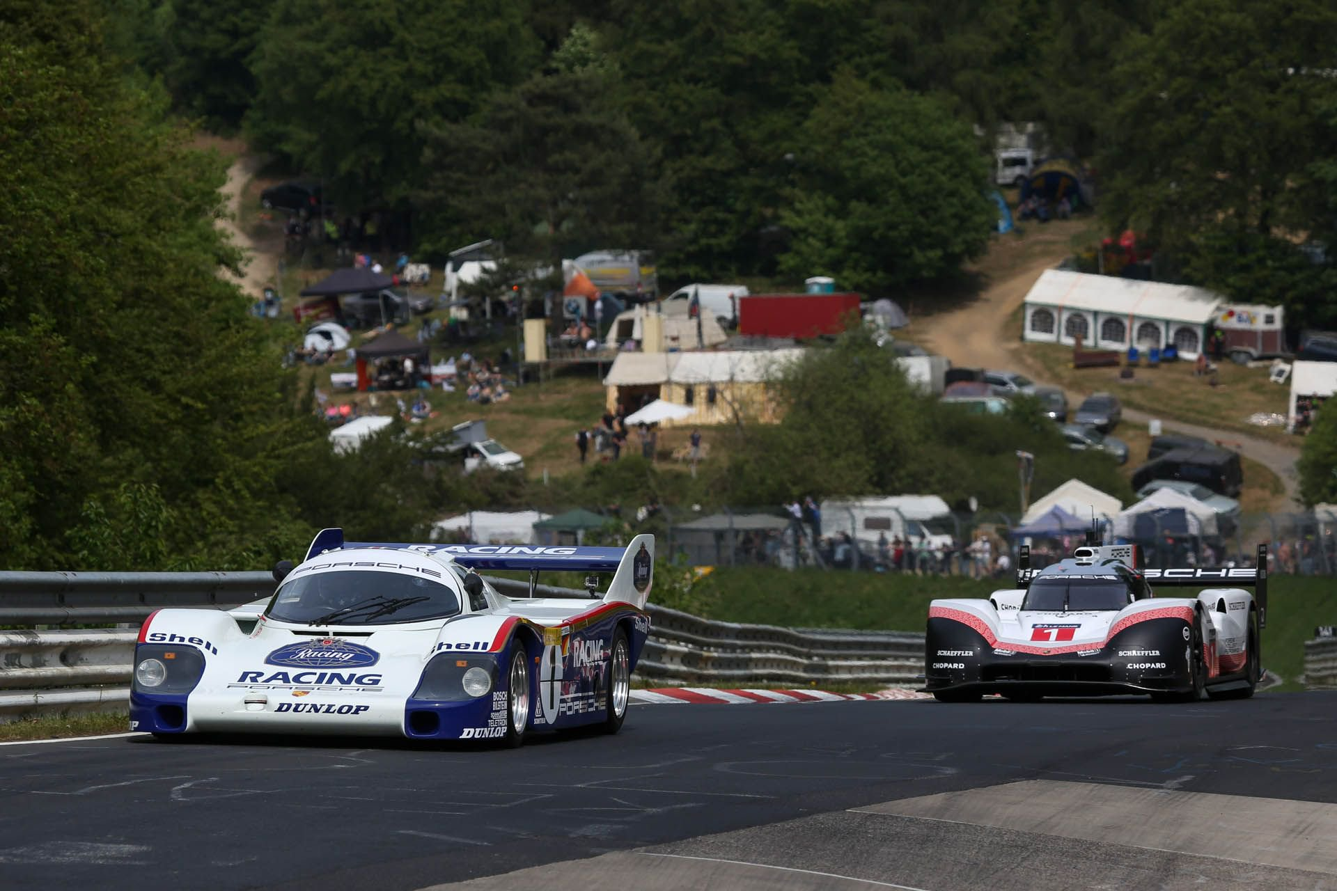 Porsche 919 Hybrid Evo and 956 at Nurburgring (10)