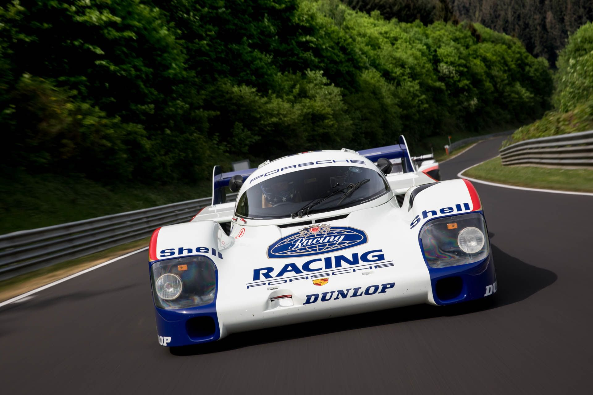 Porsche 919 Hybrid Evo and 956 at Nurburgring (2)