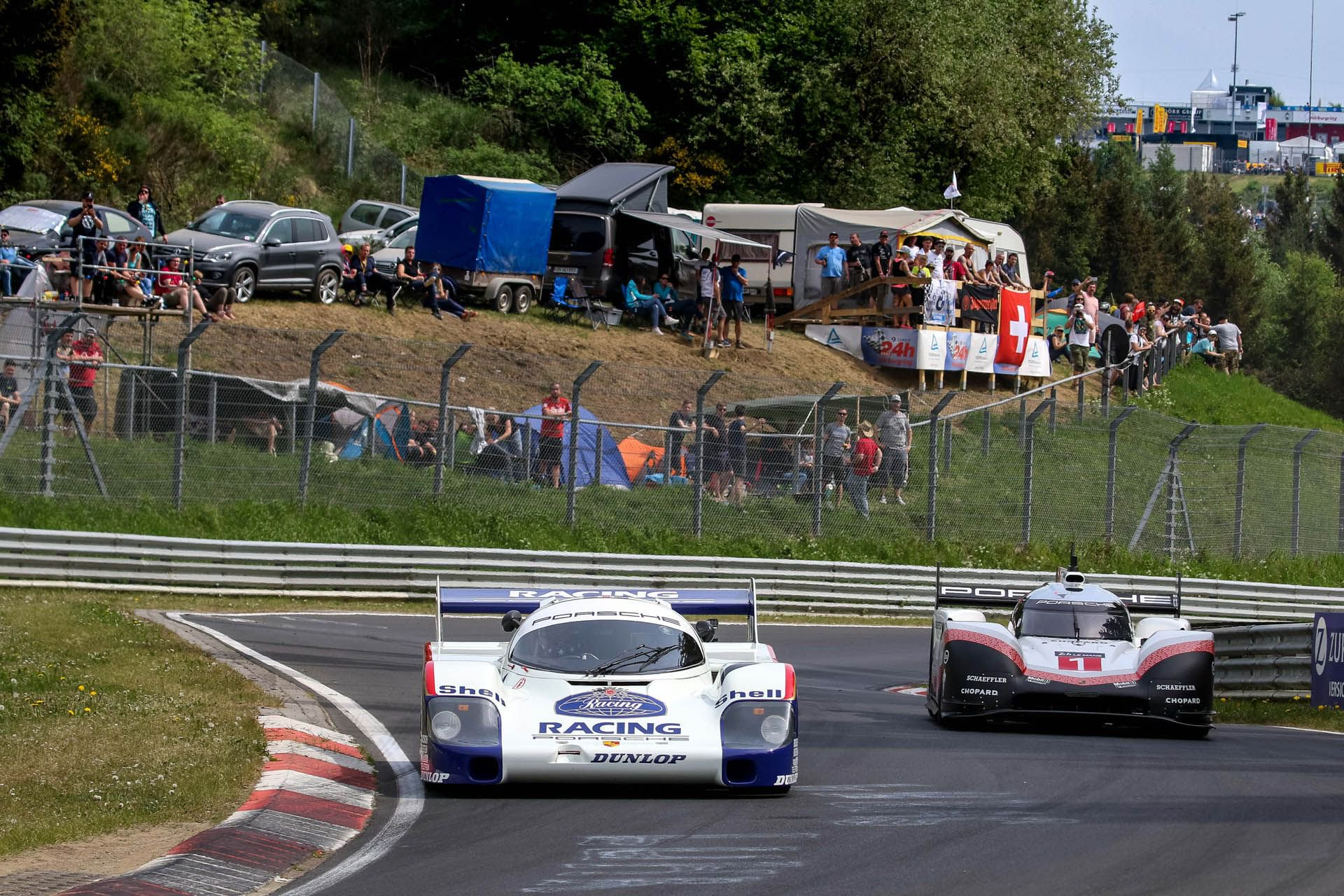 Porsche 919 Hybrid Evo and 956 at Nurburgring (9)