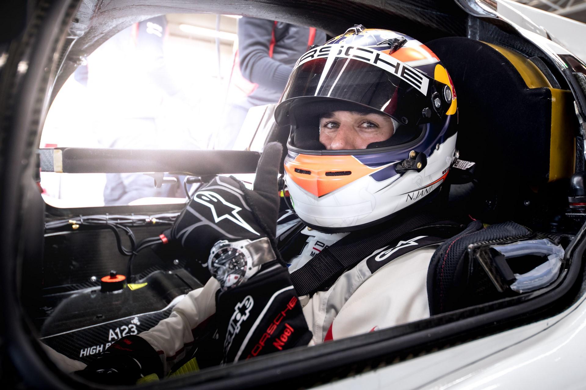 Porsche 919 Hybrid Evo, Porsche LMP Team: Neel Jani