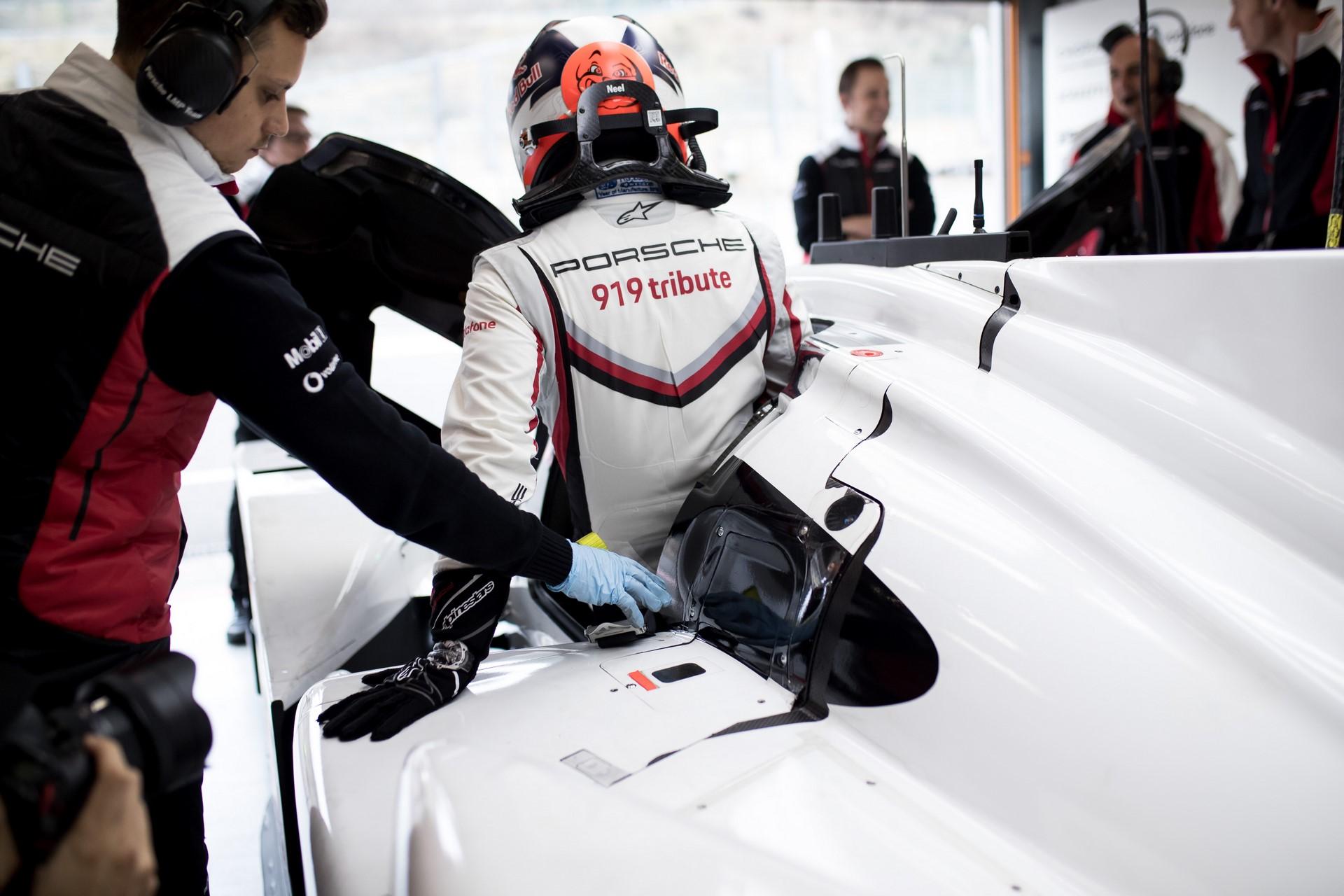 Porsche 919 Hybrid Evo, Porsche LMP Team: Andre Lotterer, Neel Jani, Timo Bernhard
