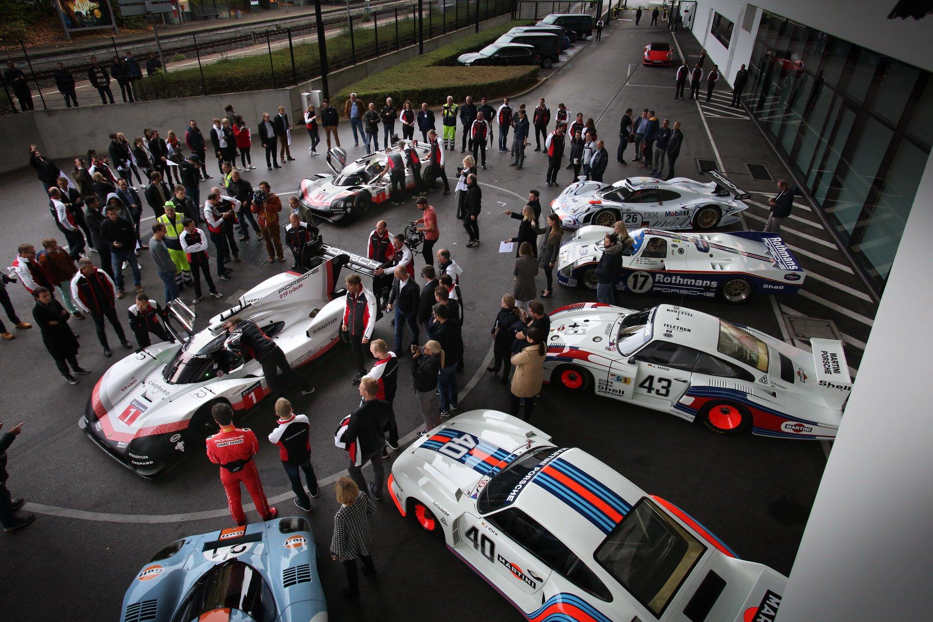 Porsche 919 Hybrid final drive at Porsche Museum (1)