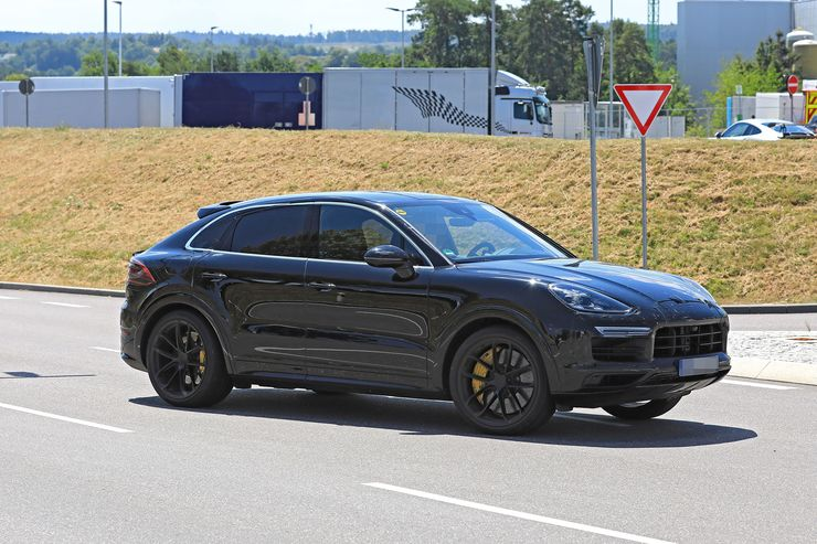 Porsche Cayenne Coupe spy (13)