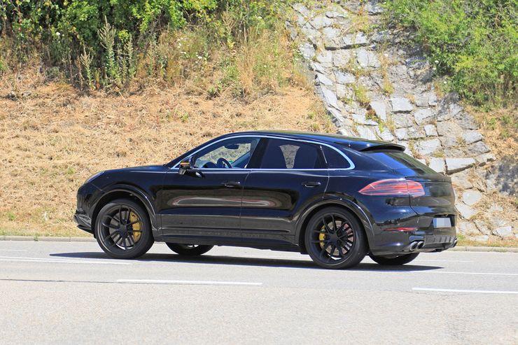 Porsche Cayenne Coupe spy (3)