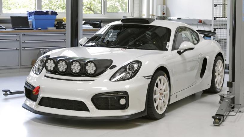 Porsche Cayman GT4 Clubsport rally car concept (1)