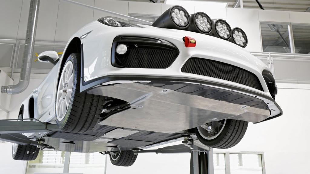 Porsche Cayman GT4 Clubsport rally car concept (2)