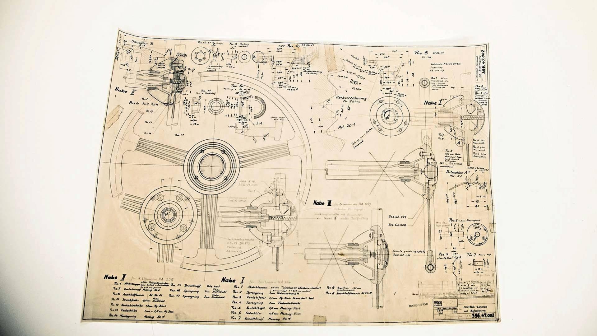 Porsche Design Drawings (4)