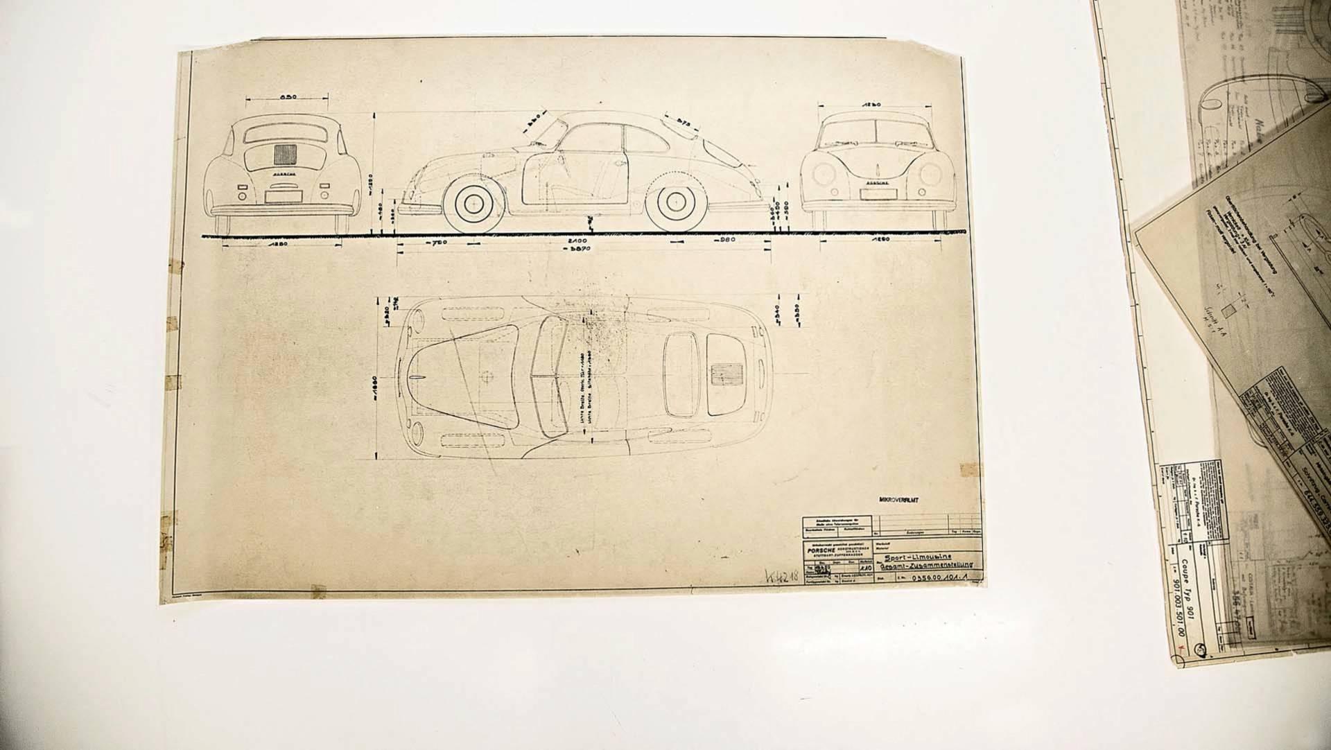 Porsche Design Drawings (5)