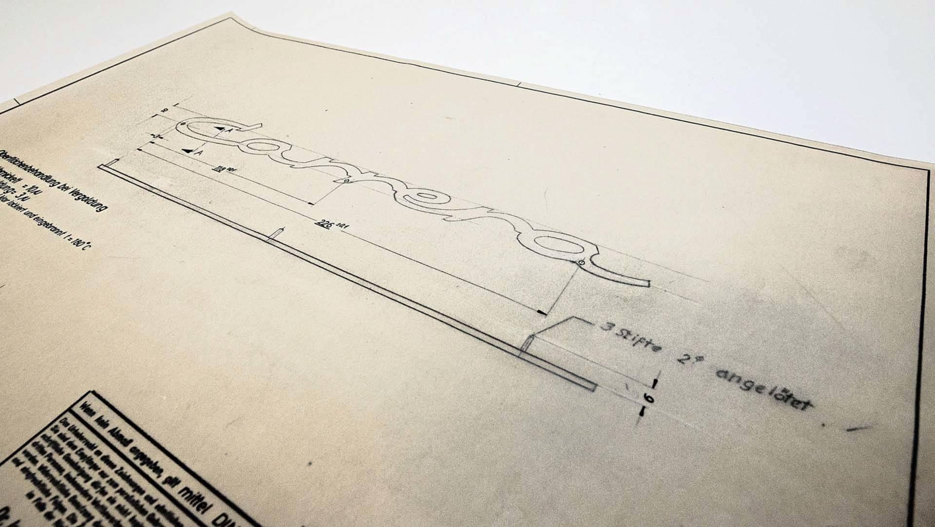 Porsche Design Drawings (7)