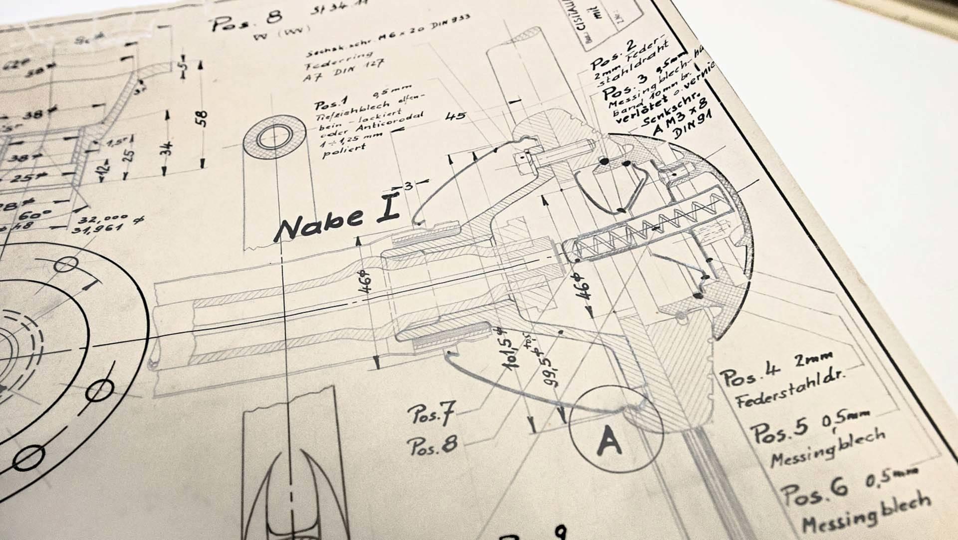 Porsche Design Drawings (8)