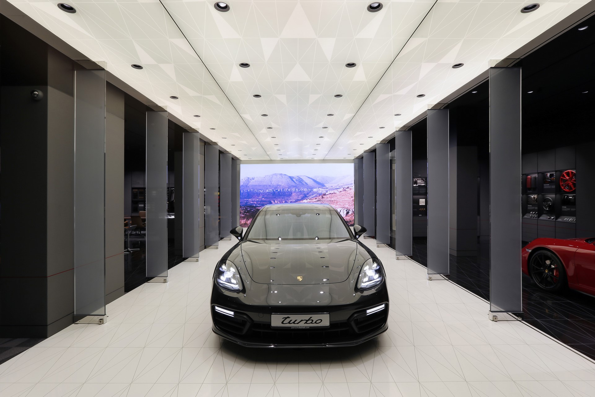 Porsche Studio in Beirut (1)
