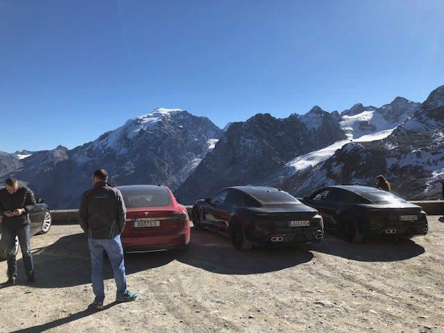 Porsche_Taycan_benchmarked_Tesla_Model_S_0000