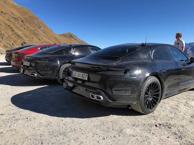 Porsche_Taycan_benchmarked_Tesla_Model_S_0001
