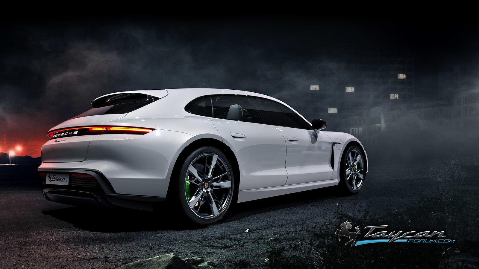Porsche Taycan Sport Turismo rendering (10)