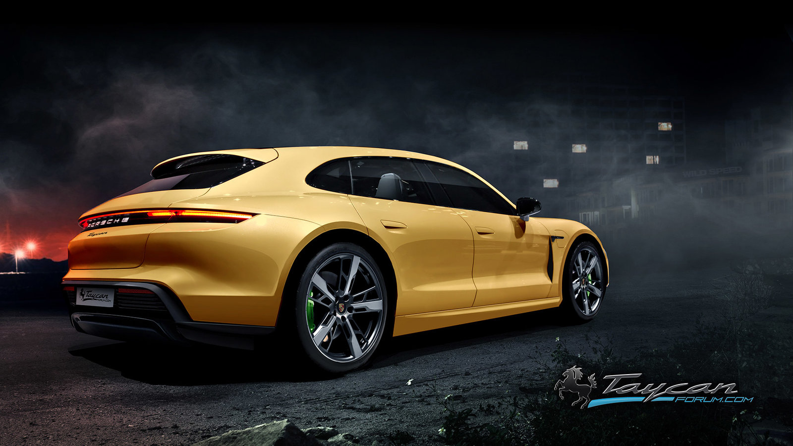 Porsche Taycan Sport Turismo rendering (11)