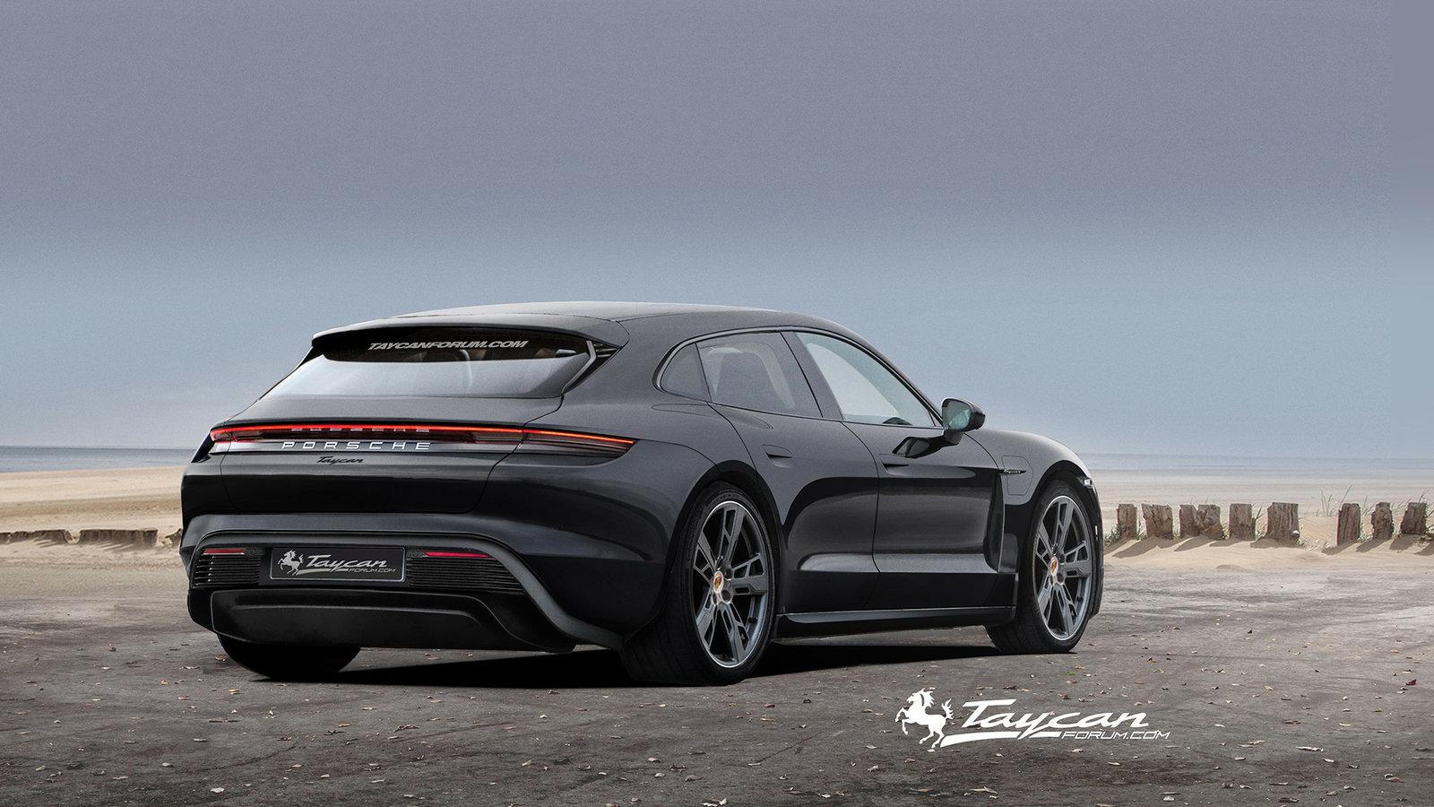 Porsche Taycan Sport Turismo rendering (2)