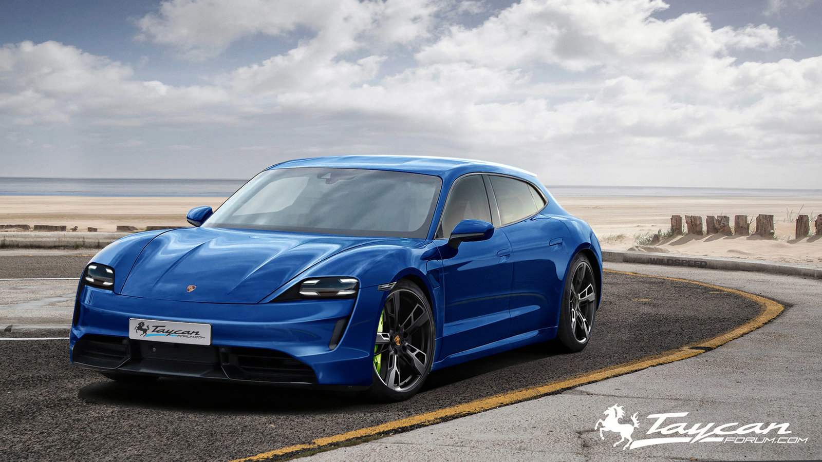 Porsche Taycan Sport Turismo rendering (3)