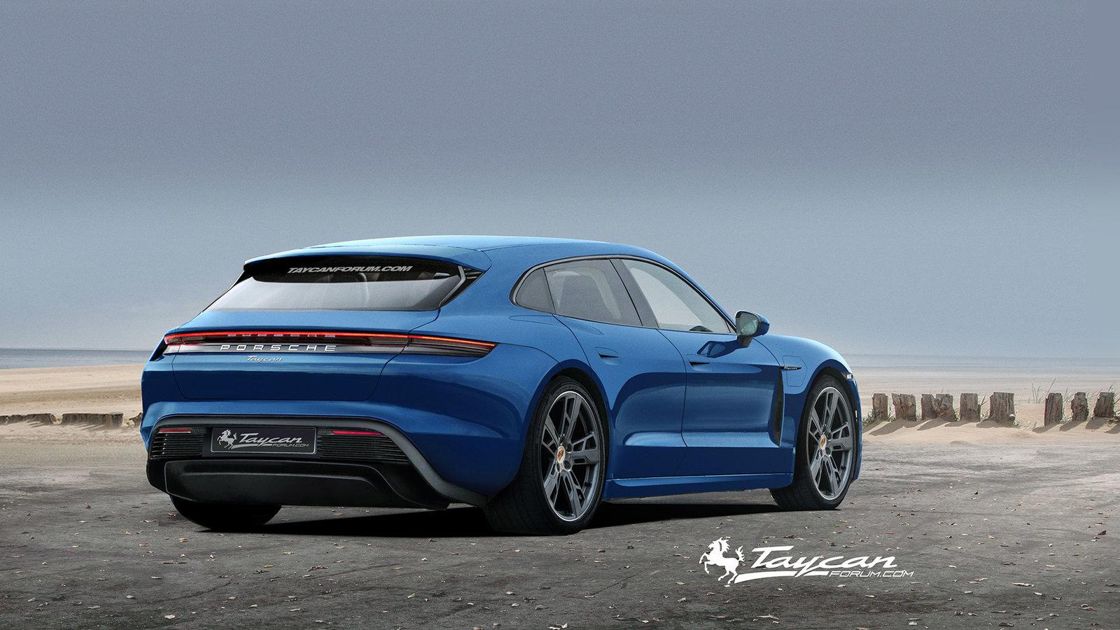 Porsche Taycan Sport Turismo rendering (4)