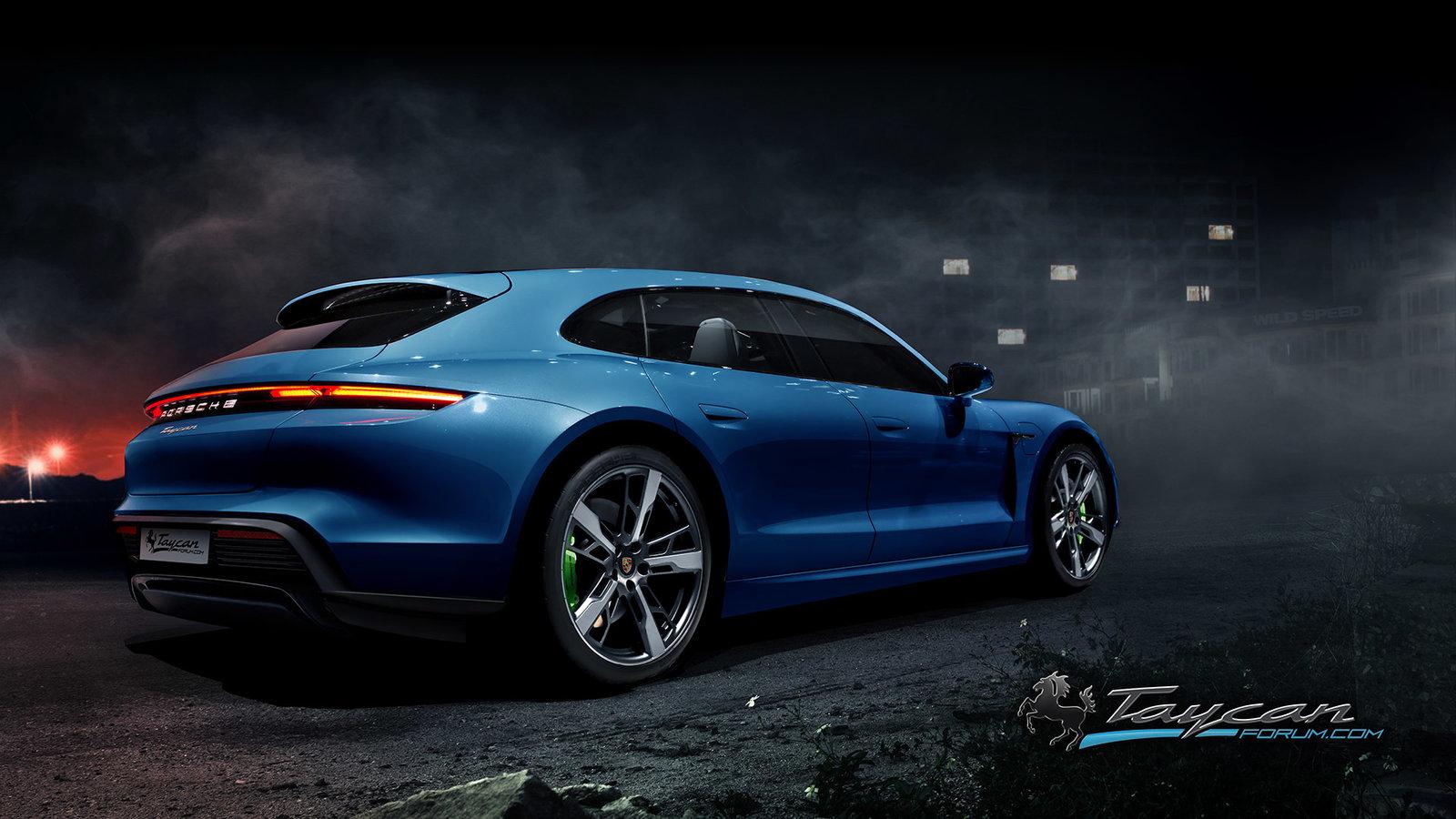 Porsche Taycan Sport Turismo rendering (5)