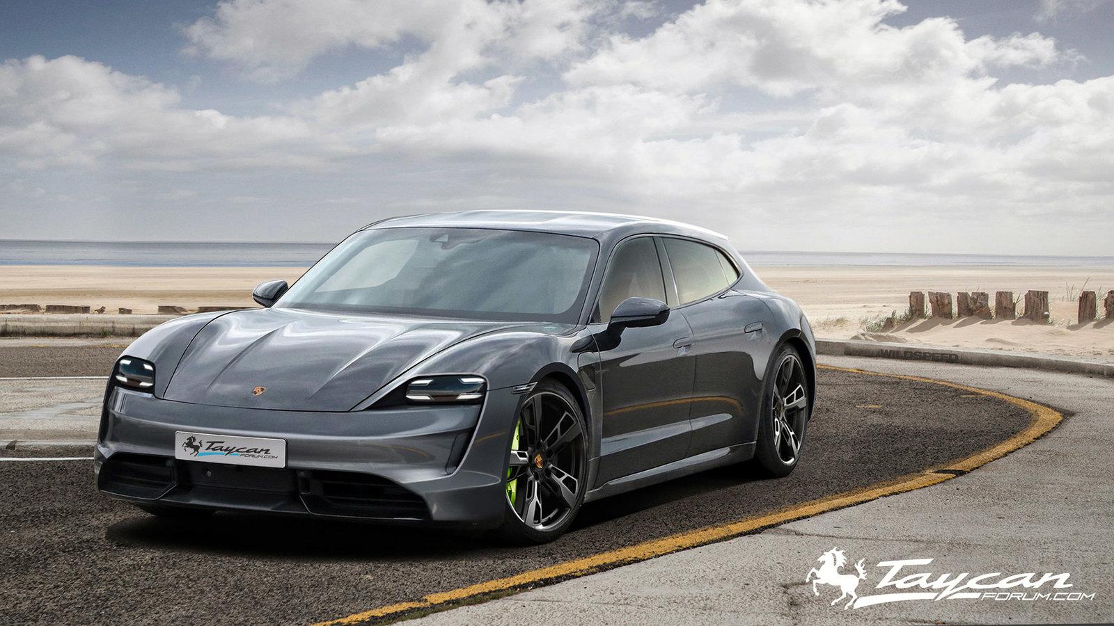 Porsche Taycan Sport Turismo rendering (6)