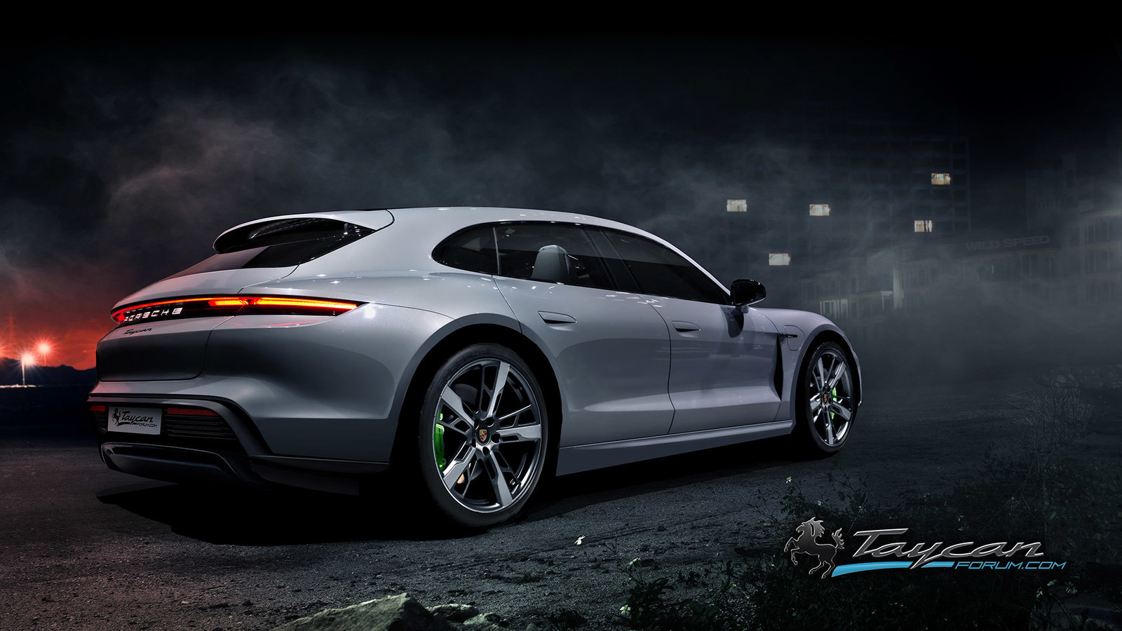 Porsche Taycan Sport Turismo rendering (7)
