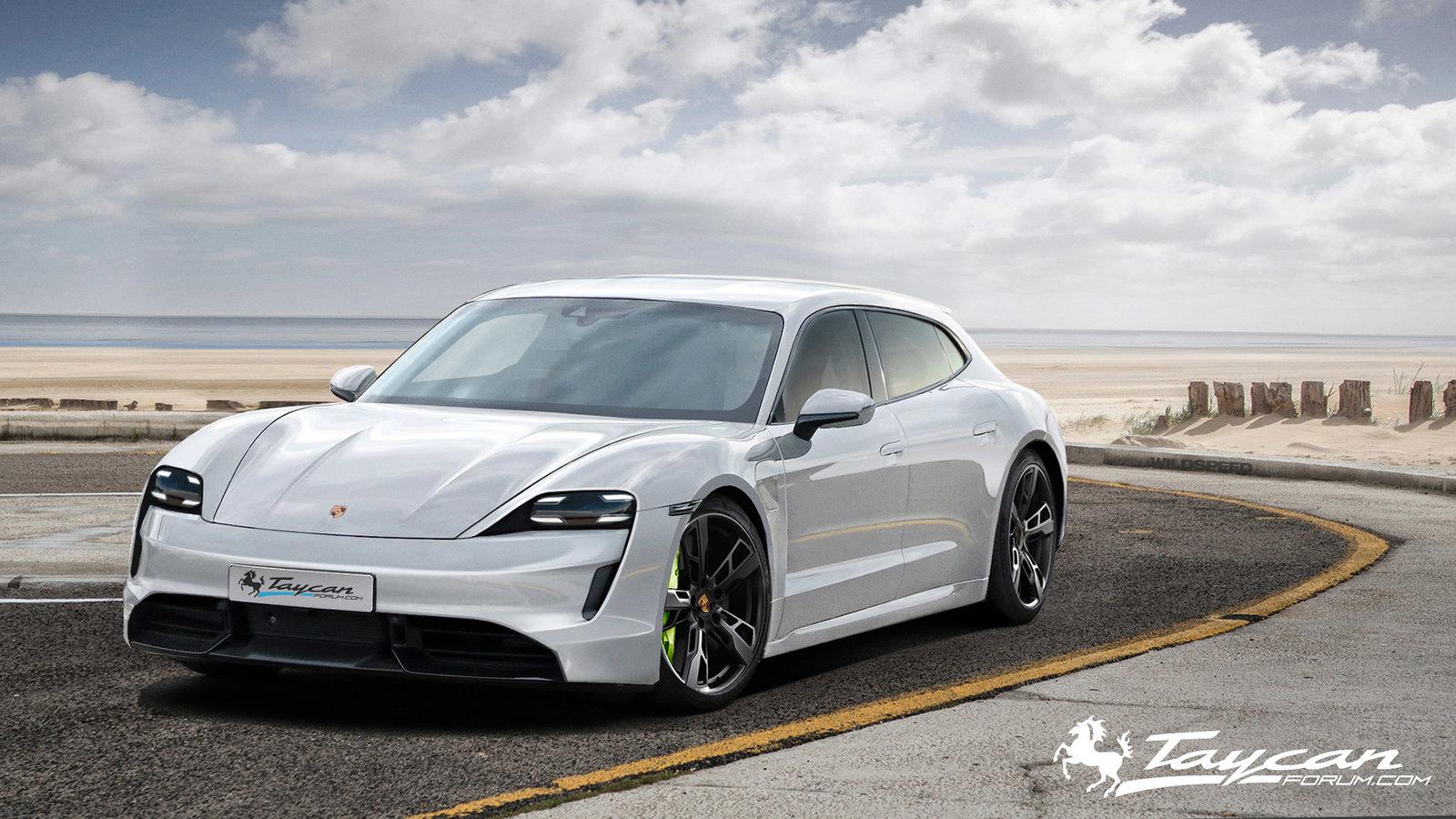 Porsche Taycan Sport Turismo rendering (8)