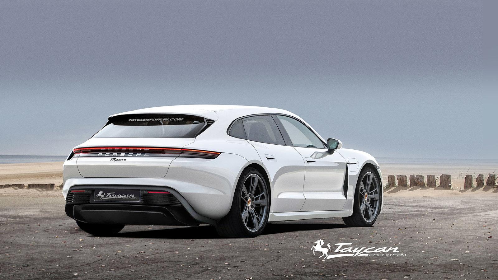 Porsche Taycan Sport Turismo rendering (9)