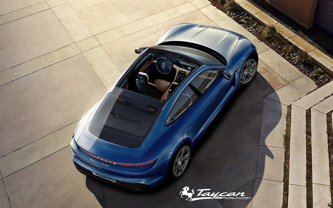 Porsche Taycan Targa Renderings (1)