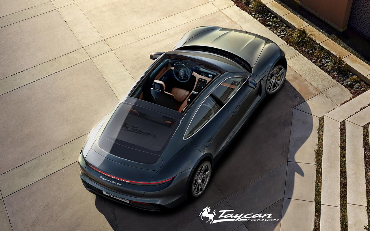 Porsche Taycan Targa Renderings (2)