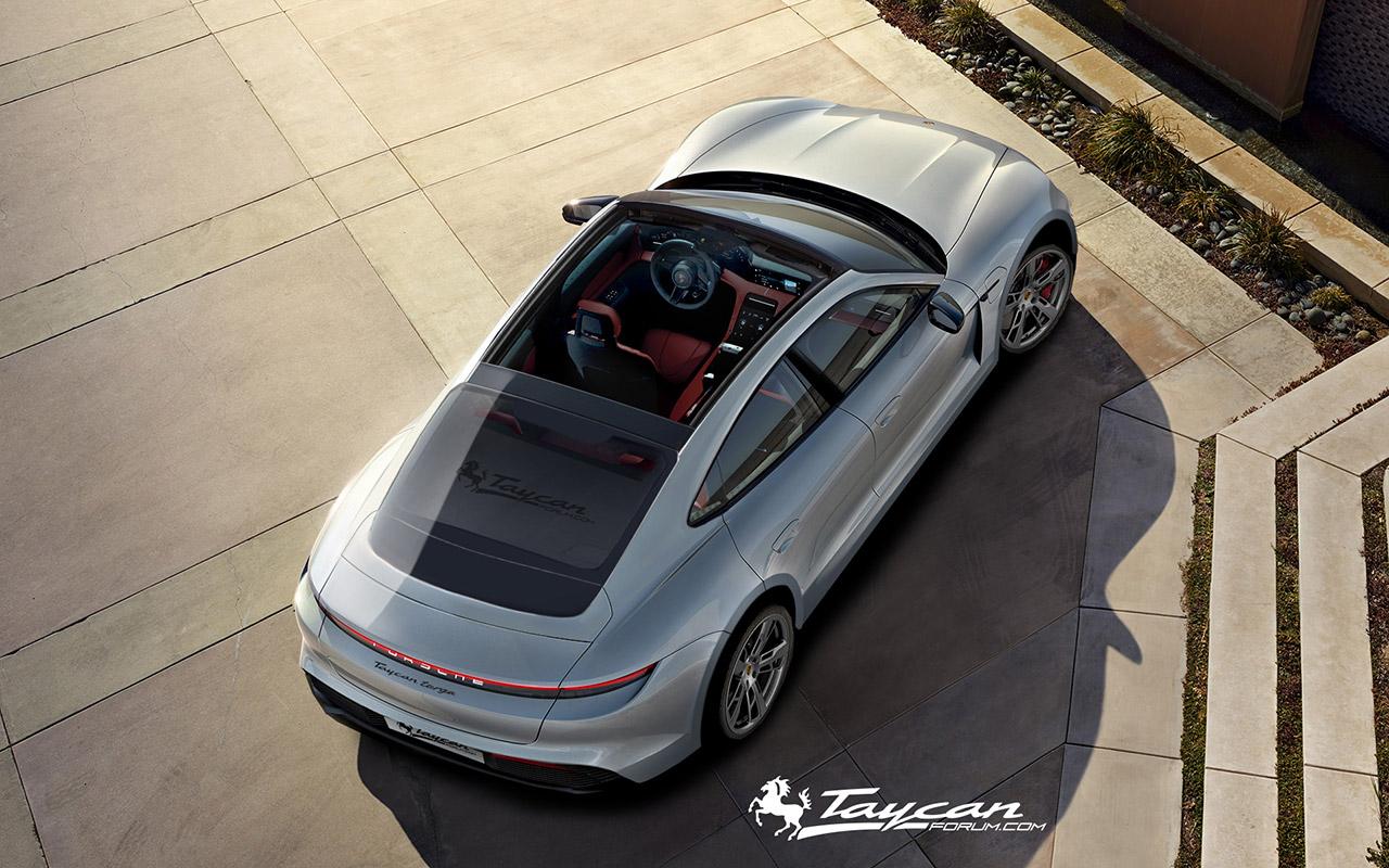 Porsche Taycan Targa Renderings (3)