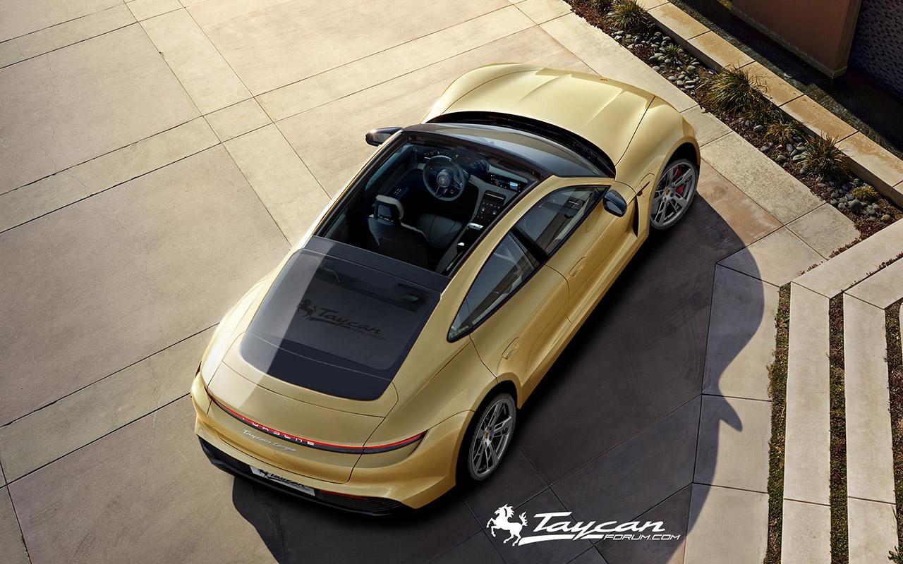 Porsche Taycan Targa Renderings (4)