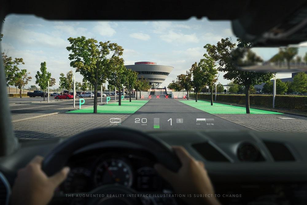 Porsche WayRayAugmented Reality HUD (2)