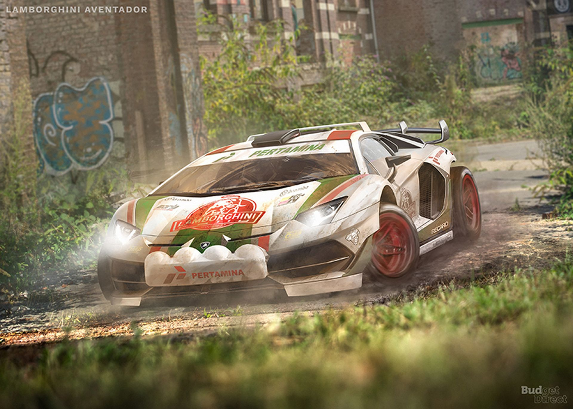 Rally Cars renderings (5)