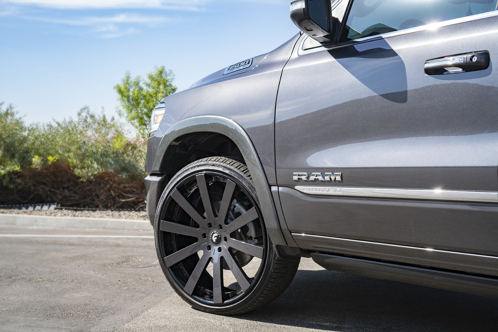 Ram 1500 Shaquille O Neal Forgiato wheels (6)